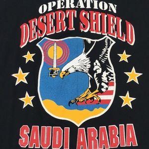Vintage Artex Operation Desert Shield Tshirt
